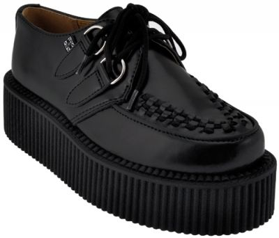Chaussures Mixtes TUK - Creepers Black