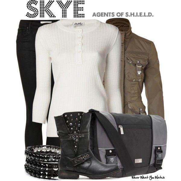 Inspired by Chloe Bennett as Skye on Agents of S.H.I.E.L.D.