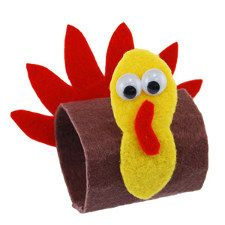 Easy Thanksgiving Napkin Rings #crafts #DIY