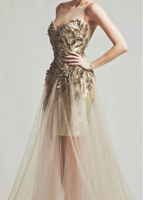 Gown by krikor jabotian- LOVE!!!!! // In need of a detox? 10% off using our discount code 'Pin10' at www.ThinTea.com.au