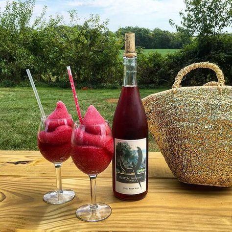 Wein-Slushies werden das Sommergetränk 2017