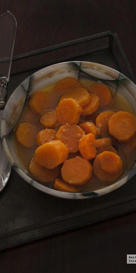 Ensalada marroquí de zanahorias. Receta con Thermomix