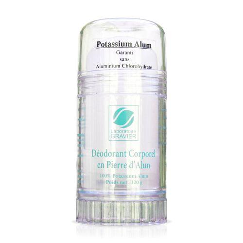 Deodorant corporal natural cu piatra de Alaun 120 g