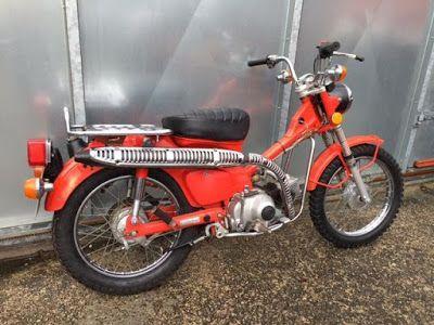 Ferro Velho Motos  Antigas : HONDA CT90 TRAIL - A Mula Mecânica da Honda.