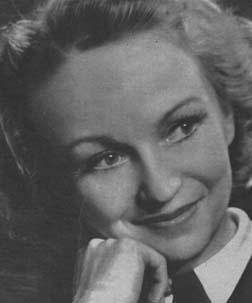 Lea Joutseno 1910-1977 Finnish actress in bubbly comedies.