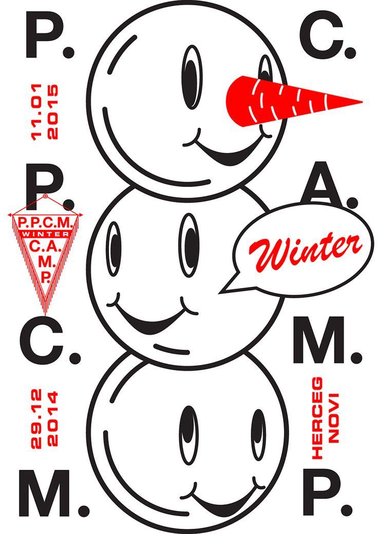 오 PPCM CAMP poster http://iraivanova.com