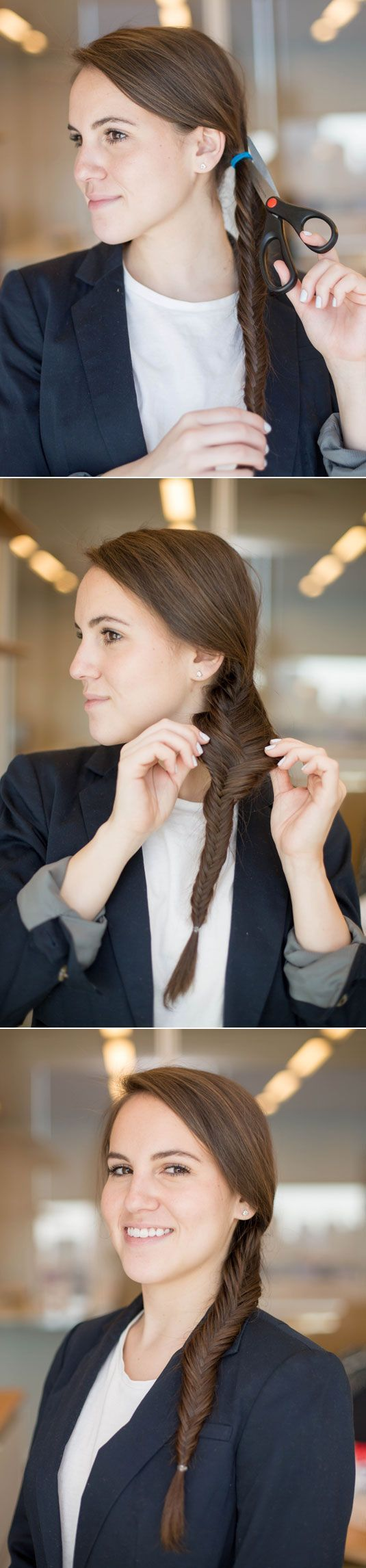 Easy Hairstyles - Fast and Simple Hair Styles for long hair - rubinextensions - hair extensions  Check out our website: rubin-extensions.com