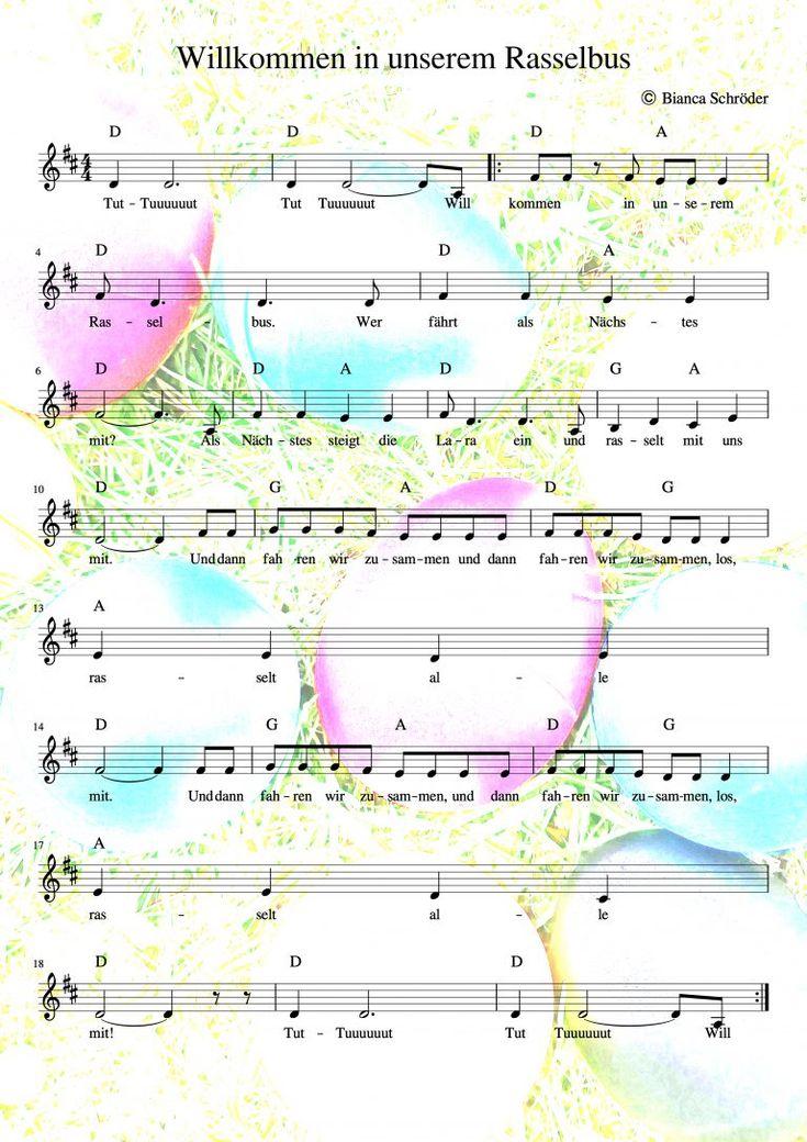 Lieder kennenlernen namen