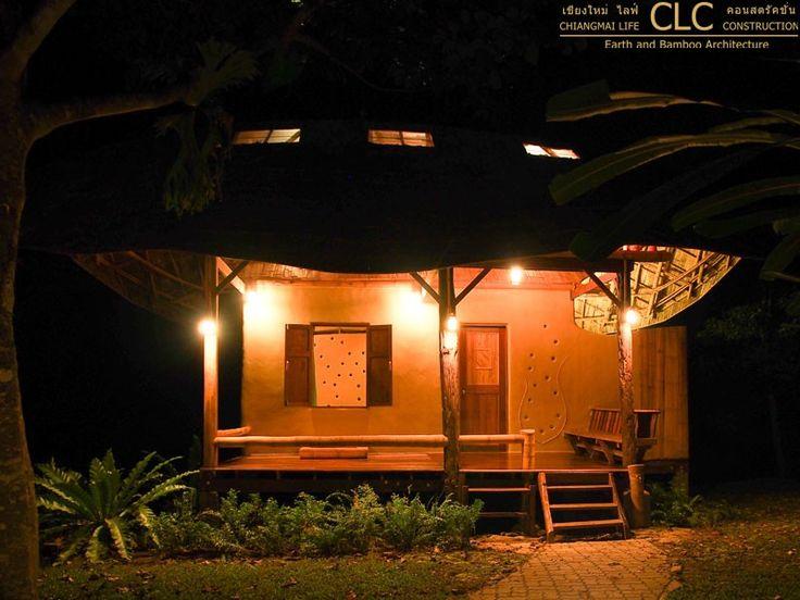 Nature Hut / Kutti Phra - Bamboo Earth Architecture - Chiangmai Life Construction