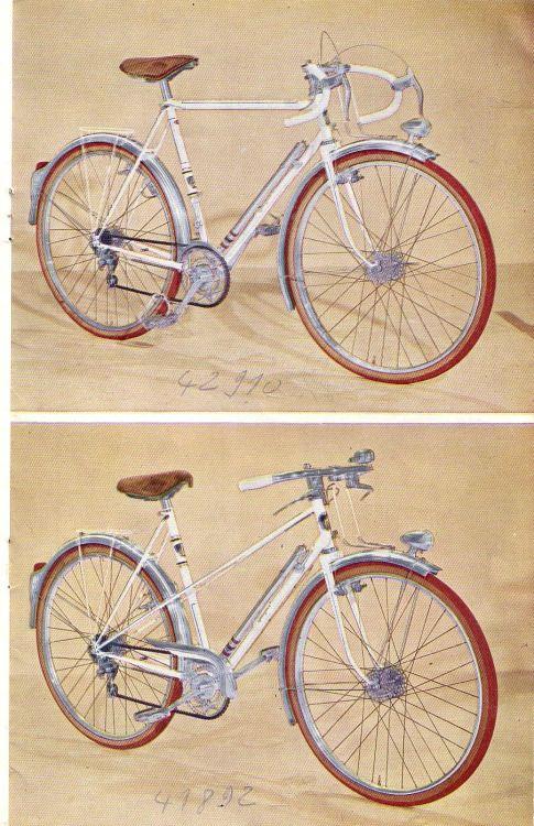 Cycles Peugeot 1952 brochure 11/18