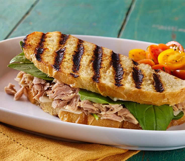 Ciao, bambini. This panini delivers the taste of an authentic crunchy Italian sandwich.