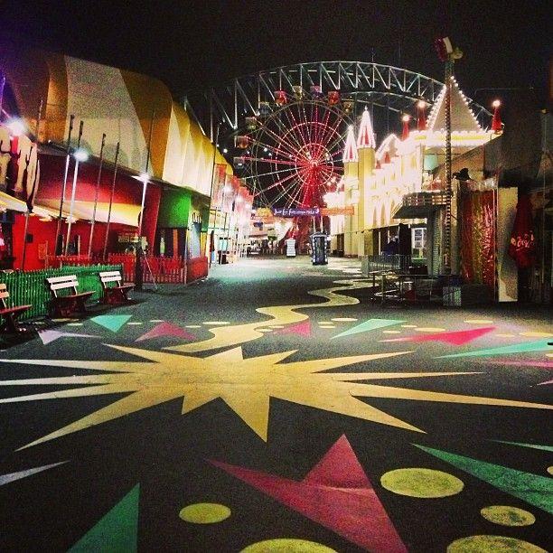 Luna park #Sydney #Australia  by kaminipal (instagram) #AustraliaItsBig