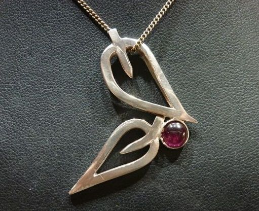 I was recently asked for a custom pendant design for a birthday gift.