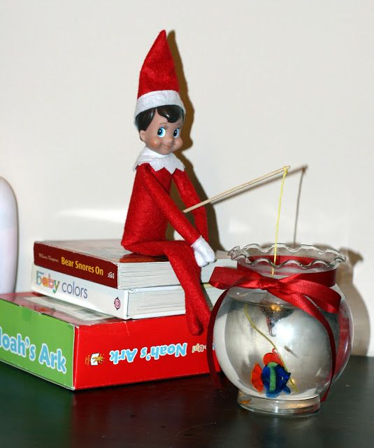 102 best images about elf on the classroom shelf on for Elf on the shelf fishing