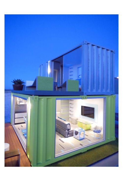 Pingl par maurizio arduini sur creative container for Maison container 64