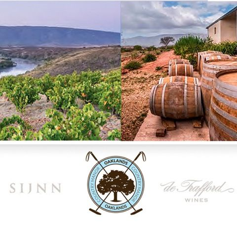 Last chance to book for our exclusive wine tasting evening with Sijnn Wines and De Trafford!