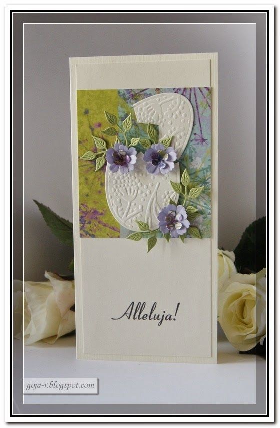 Gentile: Simplicity- Easter cards