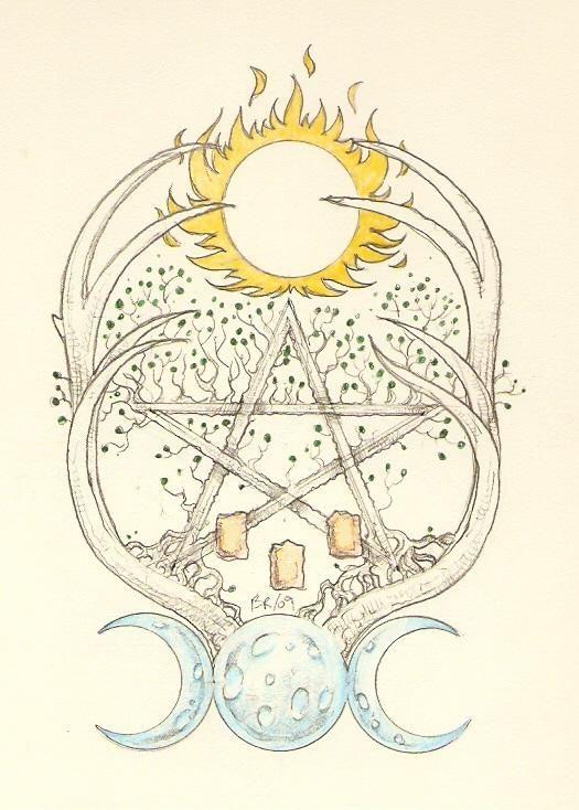 38 Best Goddess And God Symbols Images On Pinterest Wicca Wiccan