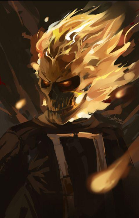 'Agenst of S.H.I.E.L.D.' Ghost Rider - Wayne Bridge