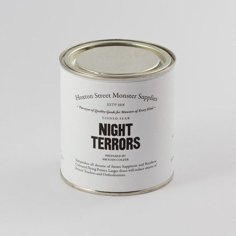 Night Terrors - sweets and short story from Hoxton Monster Supplies