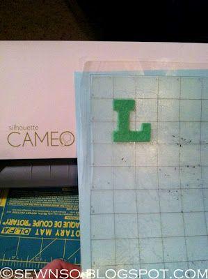 Cutting felt with the Cameo. put blade on 10. use heat n bond lite