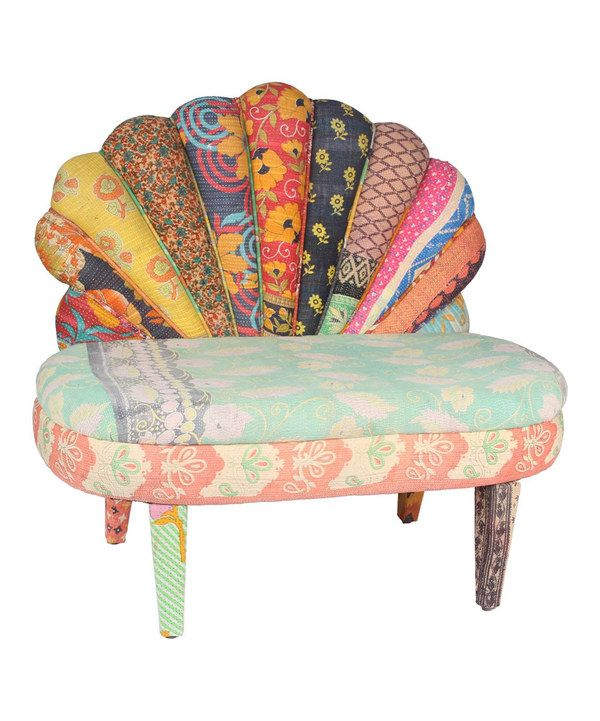 Take a look at this Savita Peacock Love Chair on zulily today!
