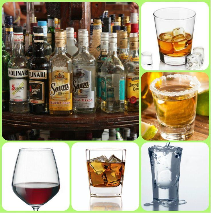 Крепкие алкогольные спиртные напитки.