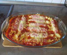Rezept Käse-Schinkenrollen in Tomatensosse von Dorothee13 - Rezept der Kategorie sonstige Hauptgerichte