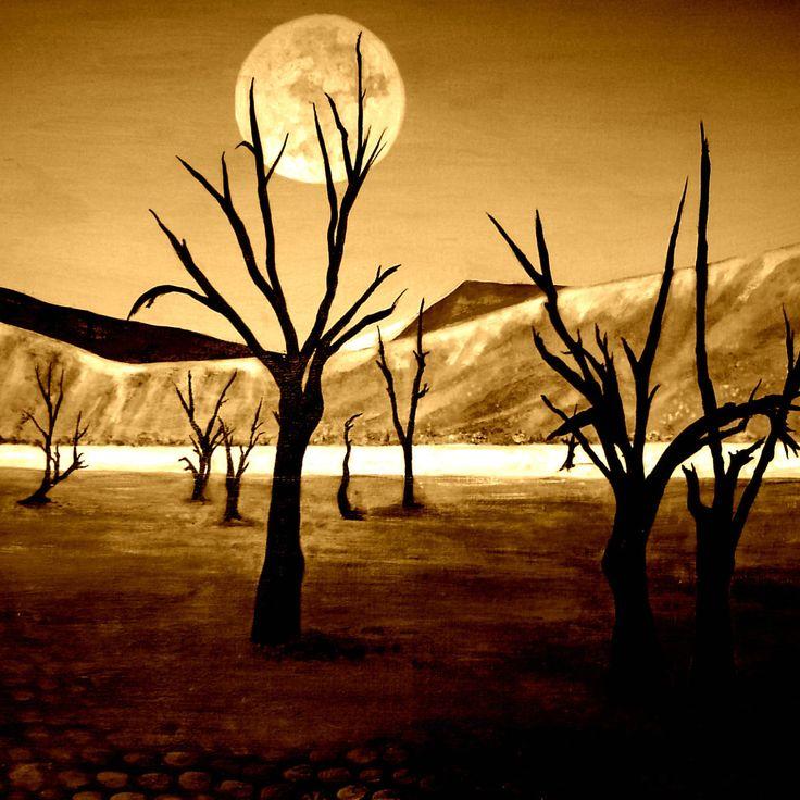 """""""Alien Landscape"""" by Eileen Frost"""
