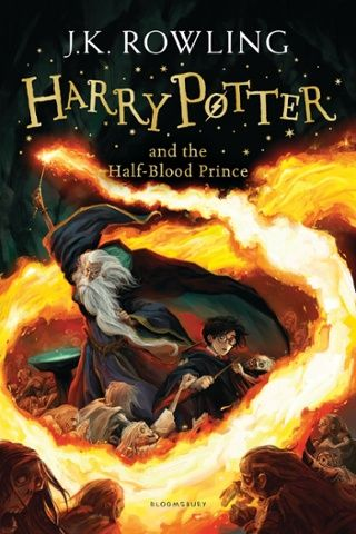 new cover for Harry Potter and the Half-Blood Prince (Bloomsbury) by Jonny Duddle
