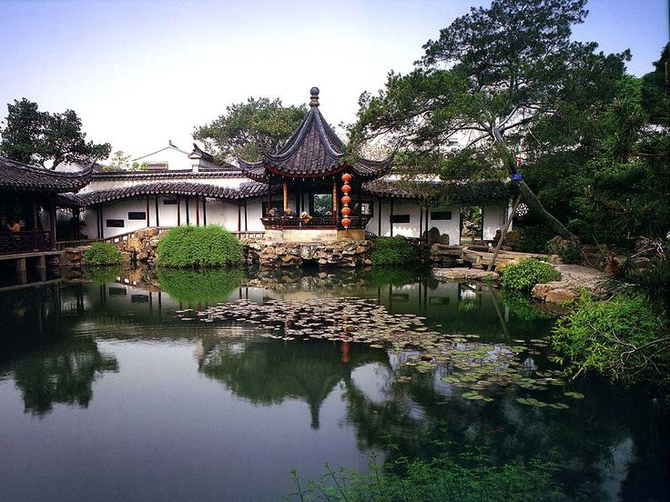 Japanese Garden House Lake: Characteristics Of The Japanese Home Design