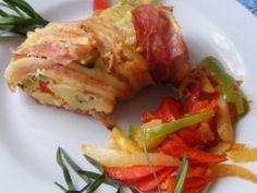 Cukkinis-paprikás burgonyakoszorú recept