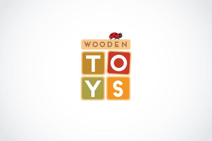 Logo for toys online shop http://www.woodentoys.com.ua/ By Olga Zelenskaya