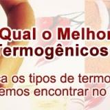 A maioria dos termogênicos encontrados no Brasil e com registro na Anvisa, são formados por componentes ativos naturais como o Chá Verde, a Cafeína e o Guaraná.