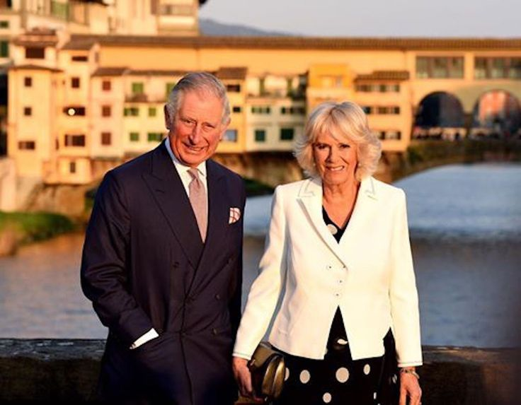 Visiting Florence with prince Charles and Camilla