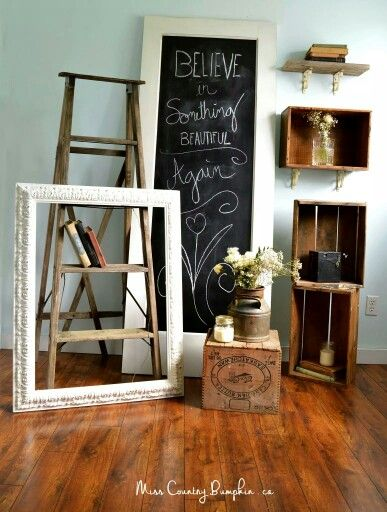 <3 everything #upcycled ! #happyearthday  #vintagecrate #crate #upcycledfurnitureshop #vintagestyle #antiquedoor #vintage #chalkboardart #chalkboard #weddingideas #boho #flowerchild #rustic