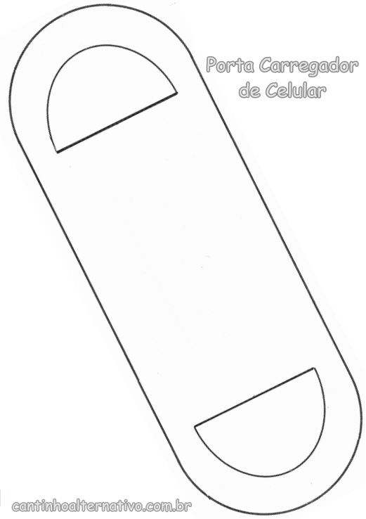 Porta Carregador de Celular Para Lembrancinha de Dia dos Pais Com Molde - Blog Cantinho Alternativo