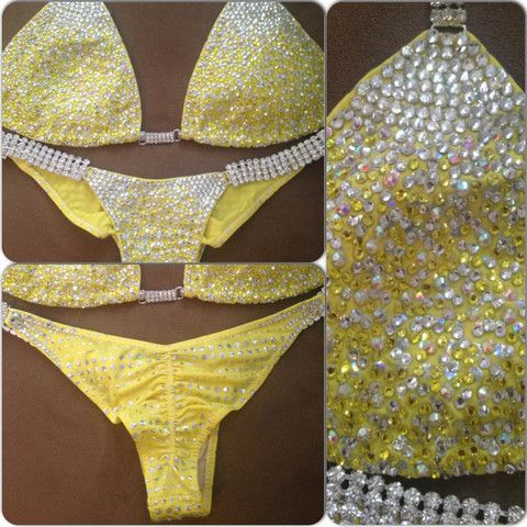 Yellow Diamond Princess Deluxe (x-large top/micro cheeky)