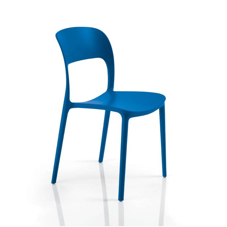 Bontempi 'Gipsy' chair - it looks sleek, comfortable, and comes in a good choice of colors and neutrals