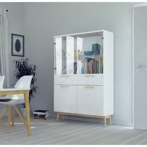 RETRO Vitrine 99 cm - Blanc mat   Salon   Pinterest   Buffet, Home Decor et  Decor 01089d4f4d58