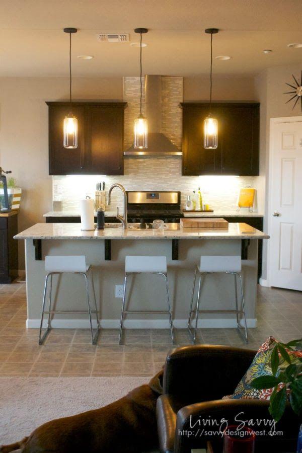 Living Savvy: My House   New Lighting Installed