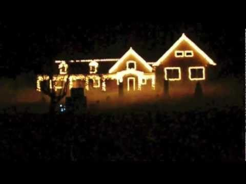Crazy Christmas Light Show 2012