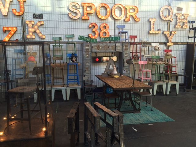 Sneak peek - Lyonbarstools at our booth at #vtwonen #fair #colors #options #spoor38 #interior #styling