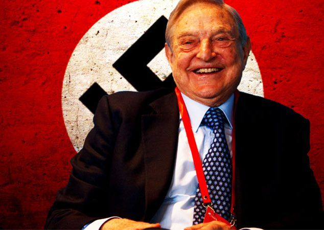"PROOF OF GEORGE SOROS NAZI PAST: When Hitler's henchman Adolf Eichmann arrived in Hungary, to oversee the murder of that country's Jews, George Soros ended up with a man whose job was confiscating property from the Jewish population. Soros' liberal defenders call this ""vicious slander"", but guess what? NTEB has uncovered the 60 Minutes interview from 1998 where George Soros proudly BRAGGED about his Nazi collaboration in helping to steal from and round up the Jews and send them to the gas…"