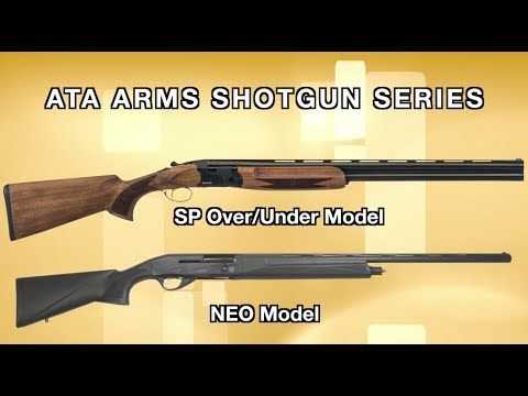 VIDEO EXCLUSIVE: EAA's New Line Of Shotguns Aims For The Best | By Shari LeGate | EAA adds the ATA Arms NEO and SP models of shotguns to their arsenal of firearm offerings. | © GUNS Magazine 2018