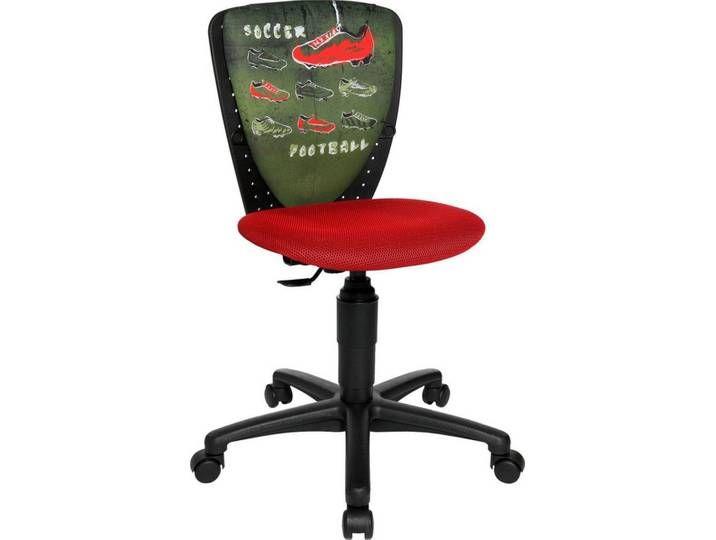 Topstar Stuhl Nic Rot Rot Motiv Soccer Grun Decor Chair