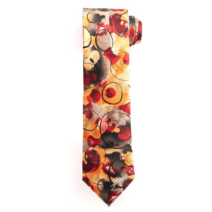 Big & Tall Jerry Garcia Extra-Long Tie & Collector's Pin Set, Men's, Size: X Long, Med Beige