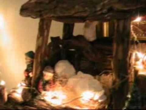 Il mio presepe e albero di Natale