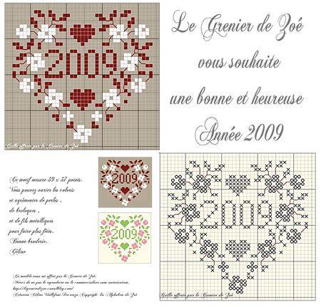 Carte_de_Voeux_2009 grille gratuite