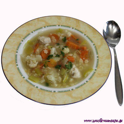 schnelle Hühnersuppe Kinder lieben die schnelle Hühnersuppe mit Karotten, Lauch und Nudeln laktosefrei
